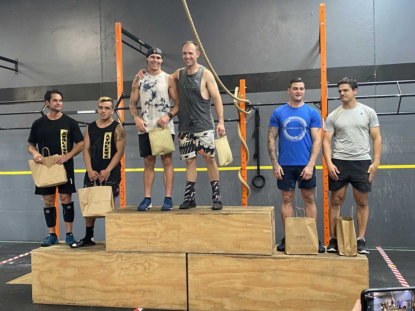 Podium at Palmy Powerhouse Competition